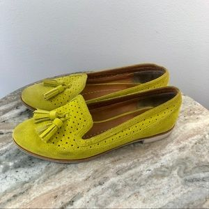 Dolce Vita loafers size 6.5 yellow suede